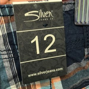 Silver Jeans Bottoms - Silver jeans shorts